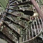 Prison Spiral Staircase Art Print