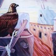 Prisoner Of Tradition-day Of Hopi Eagle Sacrifice Art Print