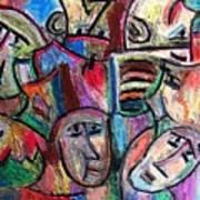 Prisoners By Rafi Talby Art Print