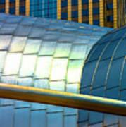 Pritzker Pavilion And Prudential Plaza Dsc2753 Art Print