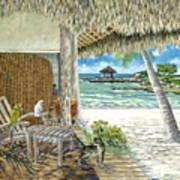 Private Island Art Print