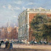 procession with Queen Victoria Art Print