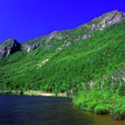 Profile Lake Franconia Notch Art Print