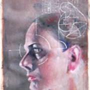 Profile Measured Art Print