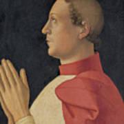 Profile Portrait Of Cardinal Philippe De Levis Art Print