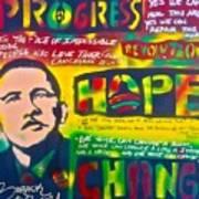 Progress Print by Tony B Conscious