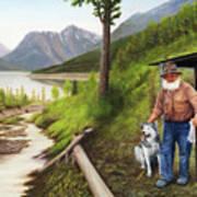Prospector And Best Friend Art Print