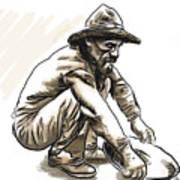 Prospector Art Print
