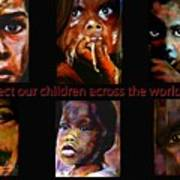 Protect Our Children Art Print