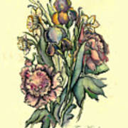 Proud Iris Art Print