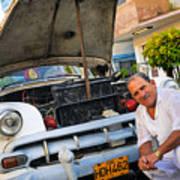 Proud Owner - Faces Of Havana Art Print