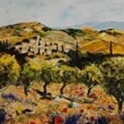Provence 10080 Art Print