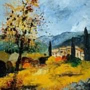 Provence 45 Art Print