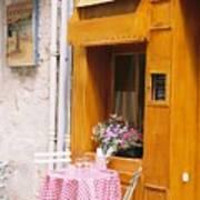 Provence Cafe Art Print