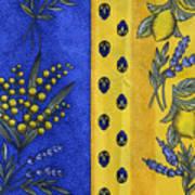 Provence Colors Art Print