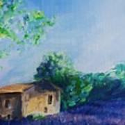 Provence House Art Print