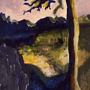 Provence Tree Art Print