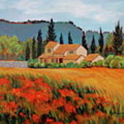Provence Villa Art Print