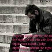 Proverbs103 Art Print