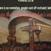 Proverbs113 Art Print