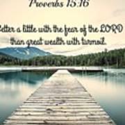 Proverbs116 Art Print