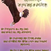 Psalm 103 Art Print