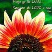 Psalm 149 1 Art Print