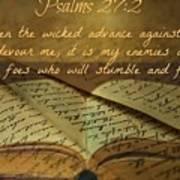 Psalms101 Art Print