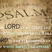 Psalms102 Art Print