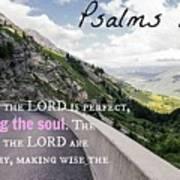 Psalms103 Art Print