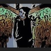 Psychedelic Angel Art Print