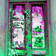 Psychedelic Door Art Print