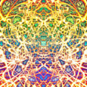 Psychedelic Drug Trip Art Print