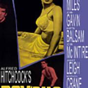 Psycho, Anthony Perkins, Janet Leigh Art Print