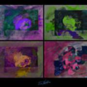 Psycho Four Art Print
