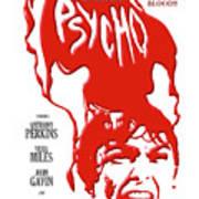 Psycho Art Print by Ron Regalado