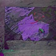 Psycho Warhol Deep Purple Art Print