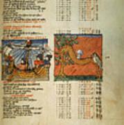 Ptolemy: Almagest, 1490 Art Print
