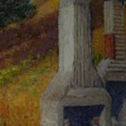 Pub Site Long Gully Art Print