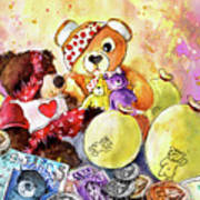 Pudsey And Truffle Mcfurry For Children In Need Art Print