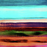 Pueblo 2- Art By Linda Woods Art Print