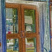 Pueblo Downtown--thatcher Building Door Art Print