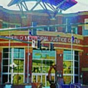Pueblo Municipal Justice Center Art Print