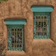Pueblo Windows Nm Horizontal Img_8336 Art Print