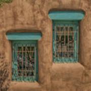 Pueblo Windows Nm Square Img_8336 Art Print