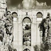 Puente Nuevo Tajo De Ronda Andalucia Spain Europe Art Print