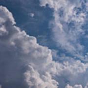 Puffy Clouds Art Print
