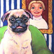 Pug - Beth Ann And Butch Art Print