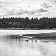 Puget Sound Reflections Art Print