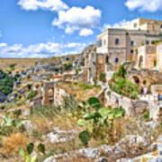 Puglia Canvas Church Hermitage Pulsano - Monte Sant Angelo - Foggia - Gargano Art Print